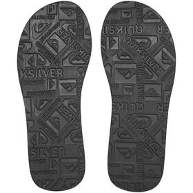 Quiksilver Carver Suede Sandals Herren solid black